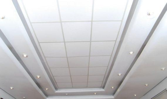 Glasliner Ceiling Tiles