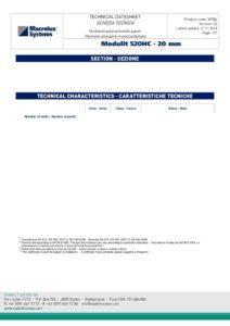 thumbnail of Modulit 520 HC – 20 mm